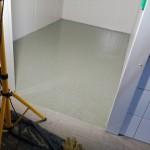 Csúszásmentes epoxigyanta hűtőházban