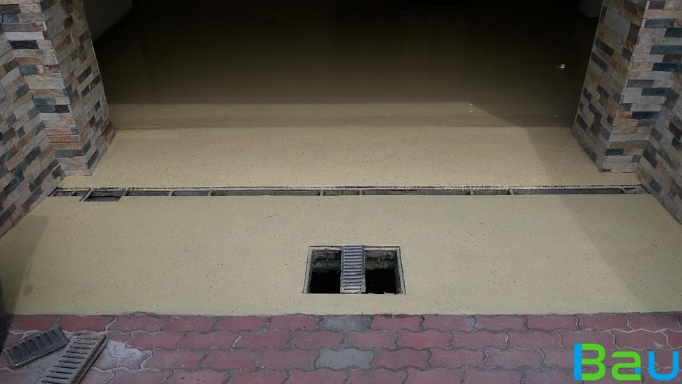 műgyanta padló felújítás